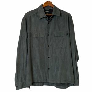 Claiborne Collared Button Down Shirt